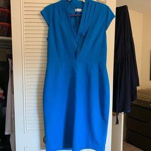 Calvin Klein Bright Blue shift dress